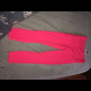 Fabletics hot pink leggings